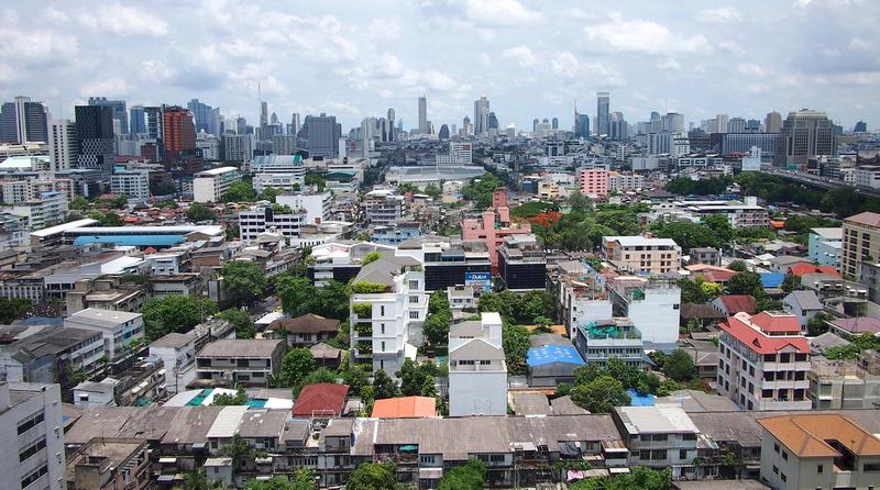 Bangkok AirBnB apartment view
