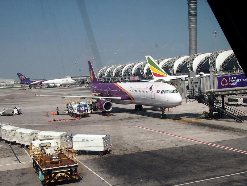 Cambodia Angkor Air at BKK