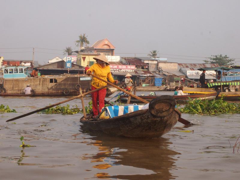 Boat lady - Cai Rang