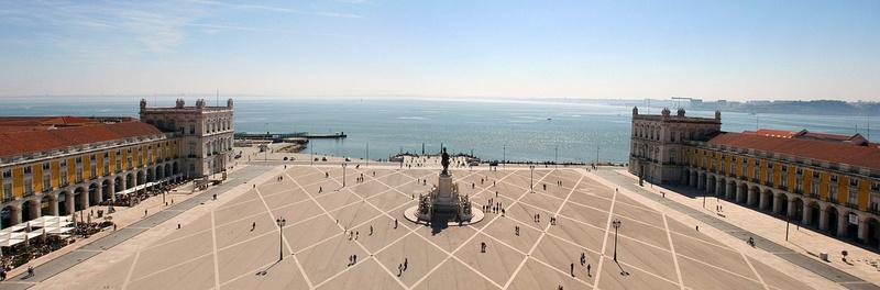 Yard of the Palace, Lisbon