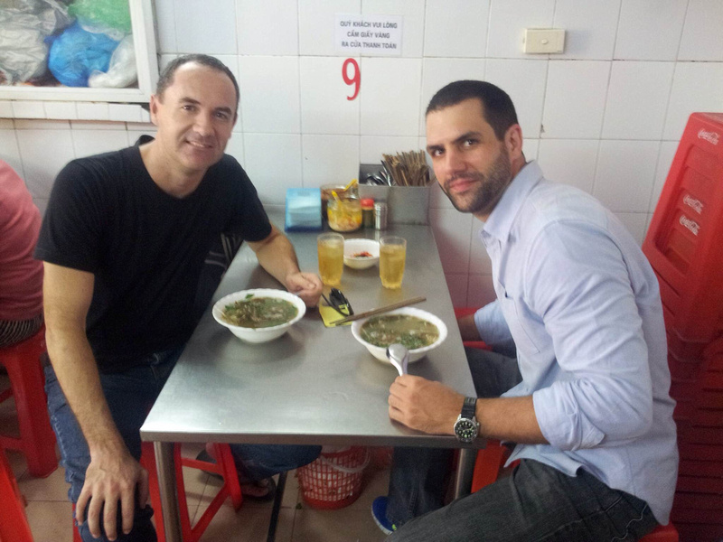 Fried eel soup - Hanoi