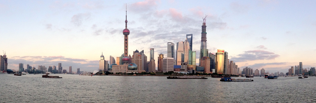 Pudong Panorama, Shanghai - China
