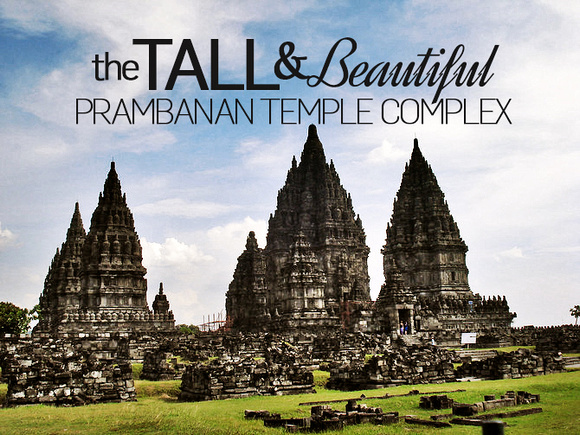 Prambanan - the largest Hindu temple site in Indonesia