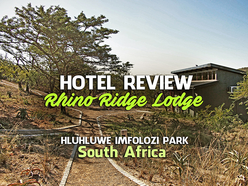 Rhino Ridge Safari Lodge, Hluhluwe-Imfolozi Park - South Africa