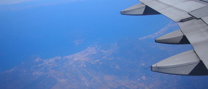 Flying by Nha Trang