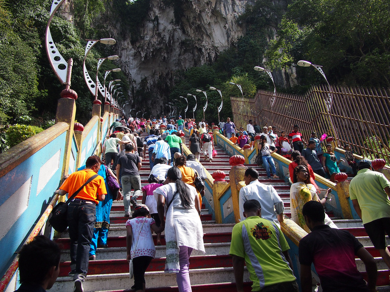 Batu Caves stairs