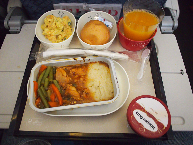 Cathay Pacific - Lunch