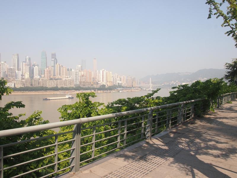 Nanbin Rd scenic riverside walk - Chongqing