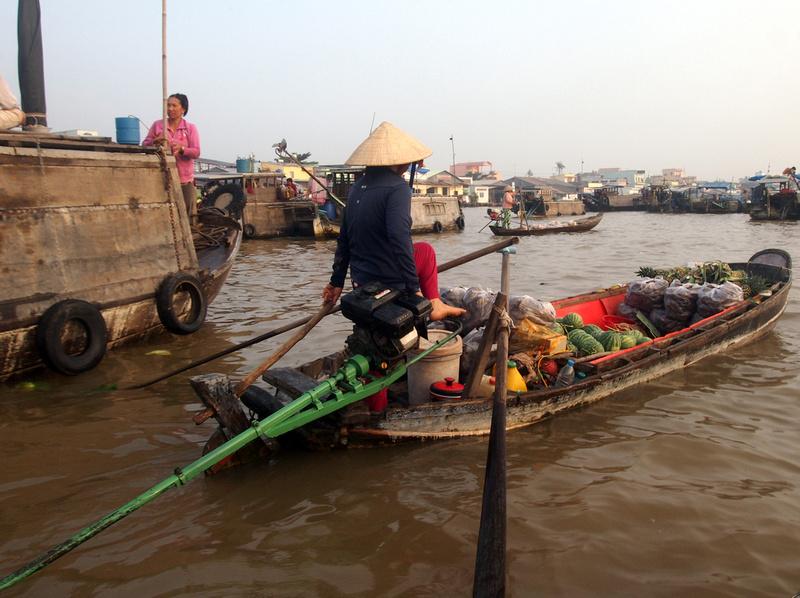 Steering with foot - Cai Rang