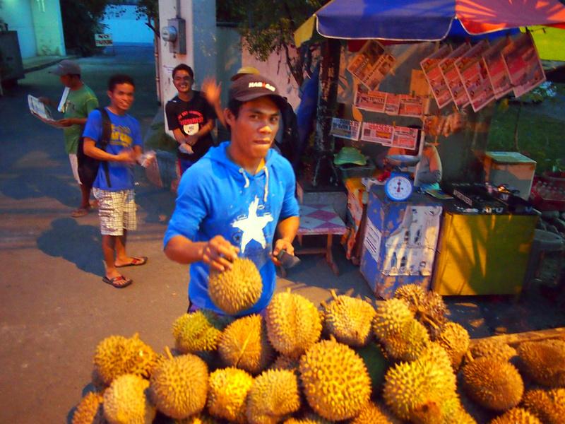 Durian merchant