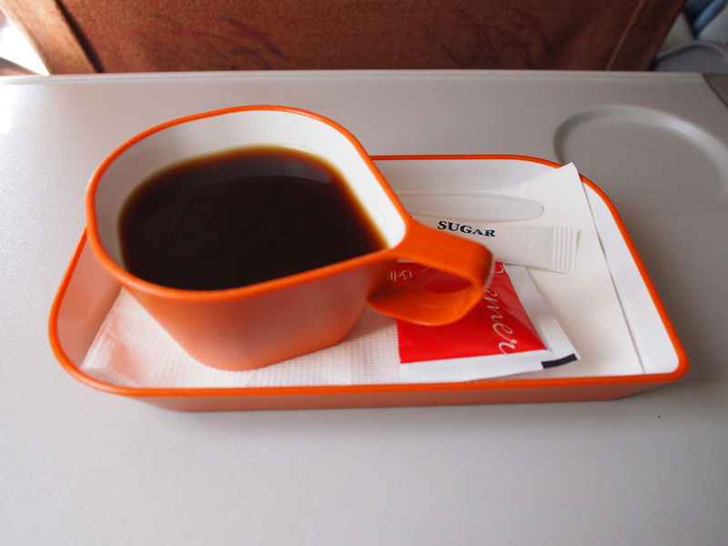 Inflight coffee