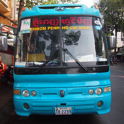 Phnom Penh - Ho Chi Minh City Bus