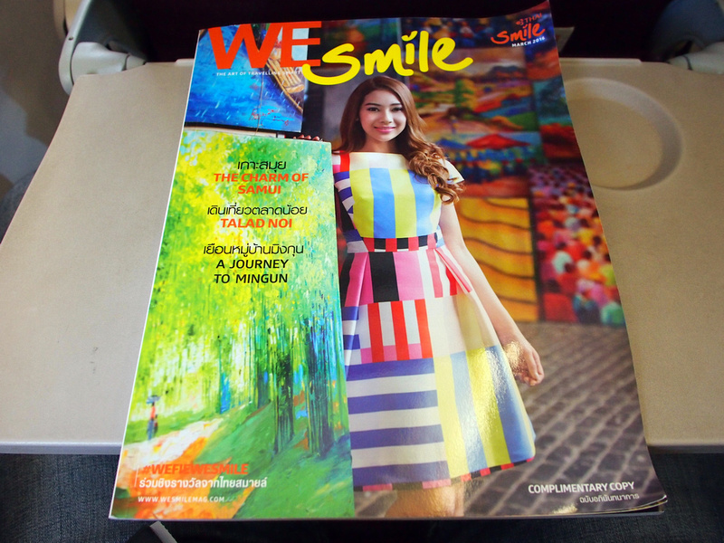 We Smile - Thai Smile inflight magazine