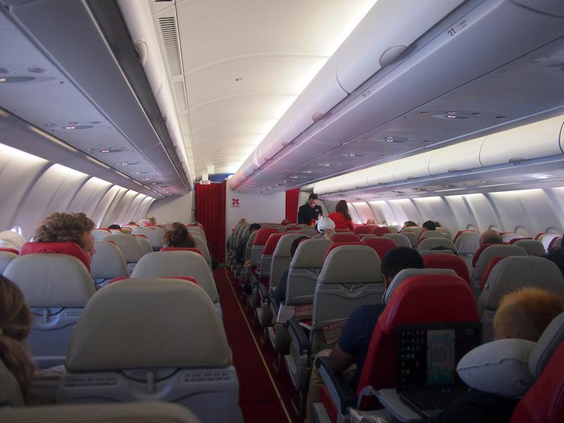 AirAsiaX – Economy Cabin