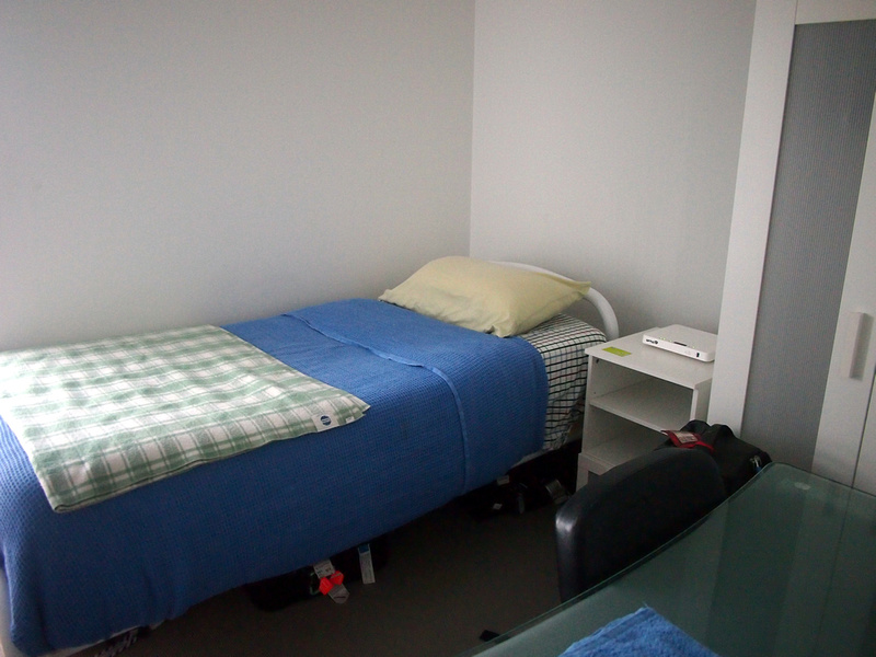 Southbank apartment bed