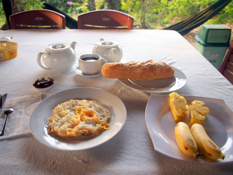 Breakfast at Nam Thanh Homestay