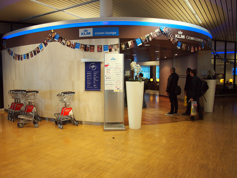 KLM Crown Lounge - Amsterdam Schiphol Airport