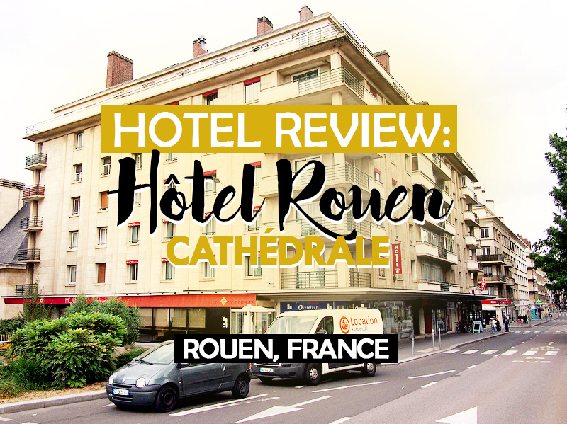 hotel review h tel rouen cath drale rouen france. Black Bedroom Furniture Sets. Home Design Ideas