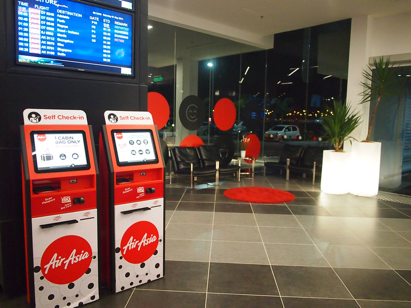 Self Check-in - Tune Hotel klia2