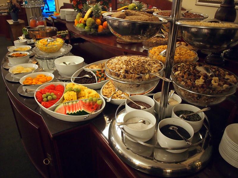 Hansa Hotel breakfast