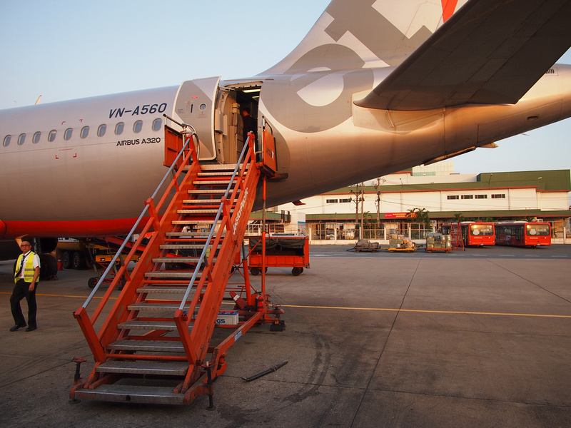 Jetstar Pacific at SGN