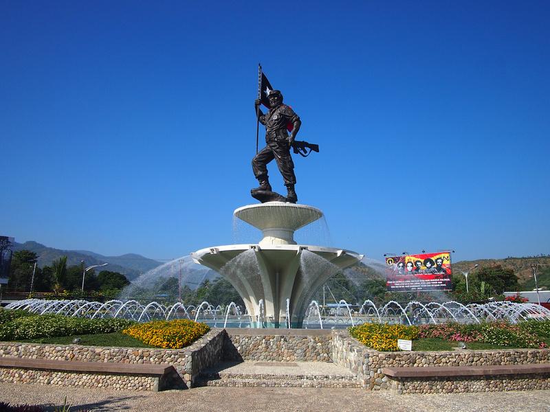 Nicholau Lobato Monument