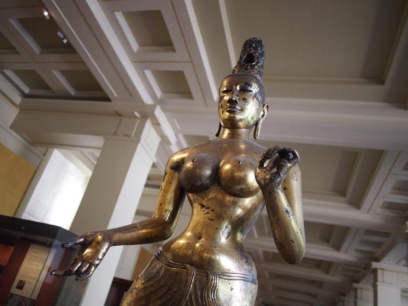 The Bodhisattva Tara from Sri Lanka from the 8th century.