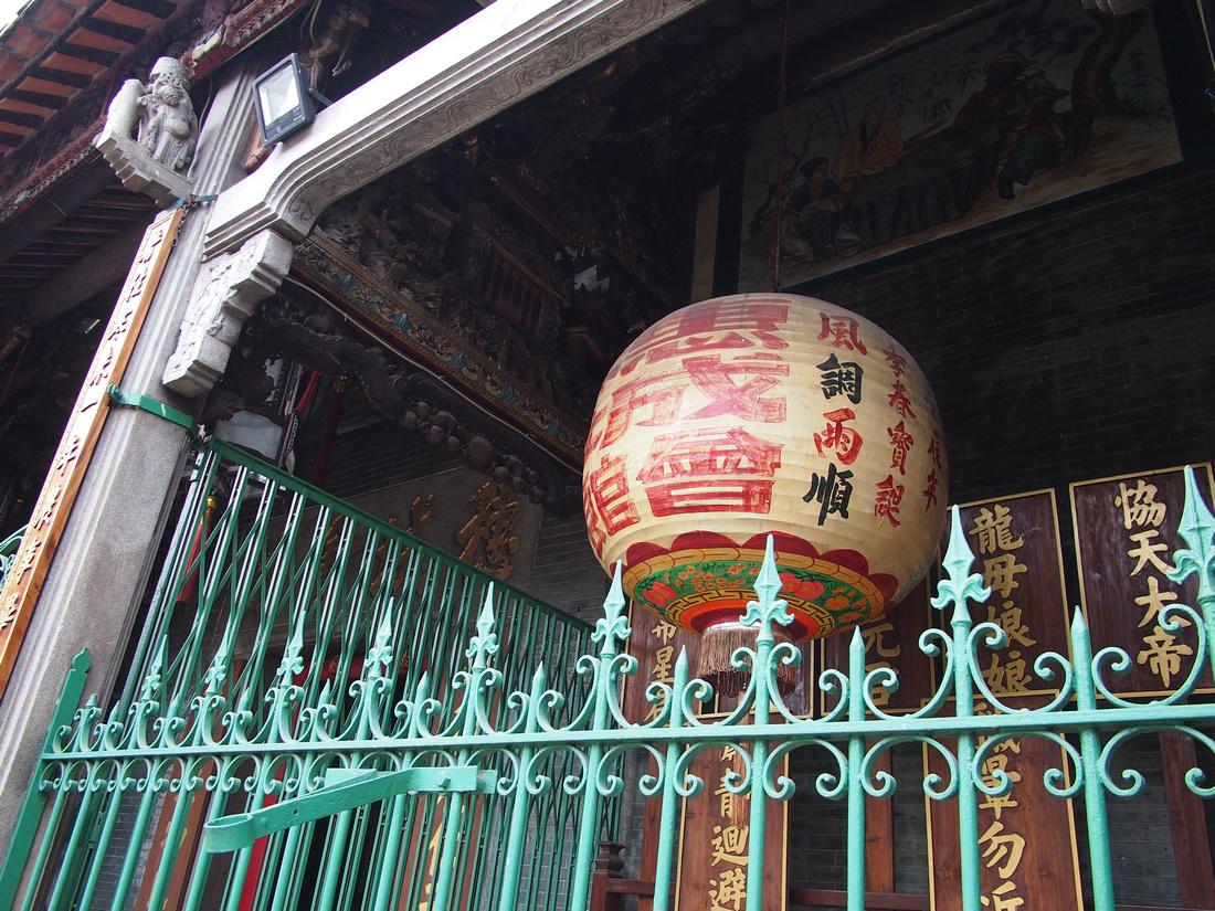 Thien Hau Temple lantern