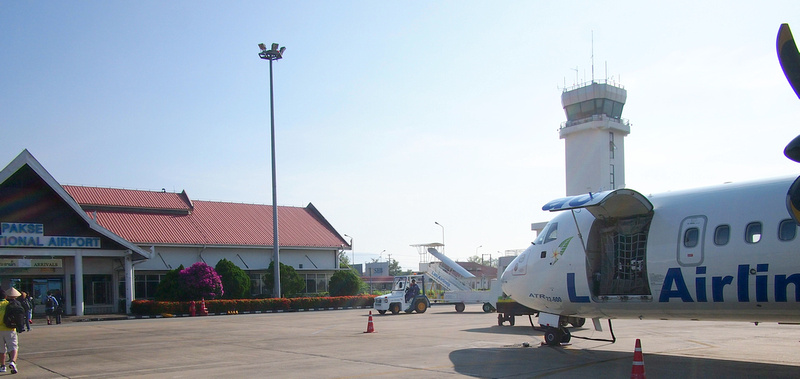 Arrival at Pakse
