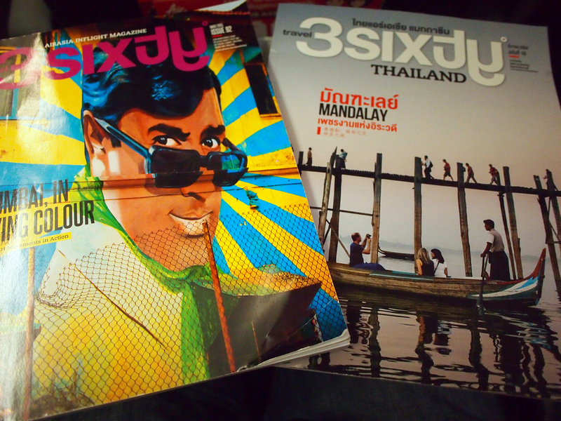 Thai AirAsia inflight magazines