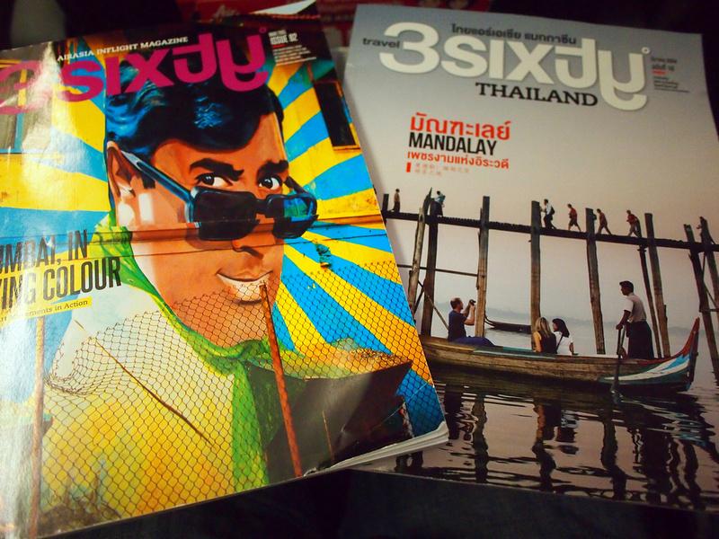 Thai AirAsia inflight magazines