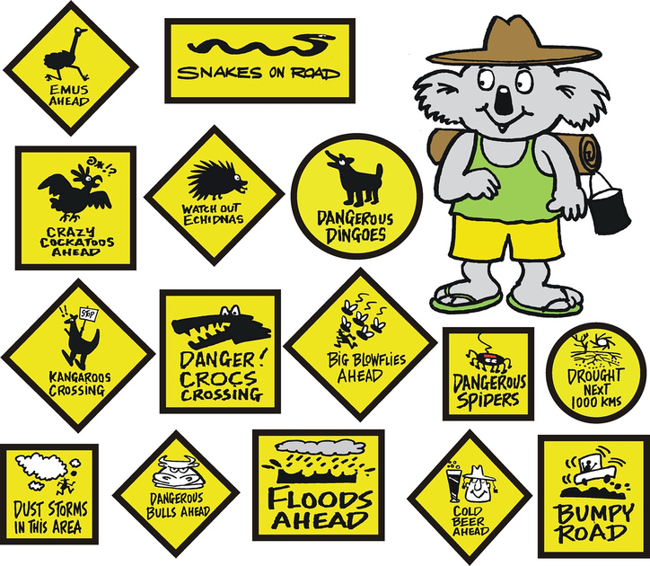 Road Signs of Australia