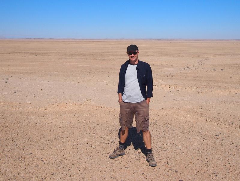 James in the desert