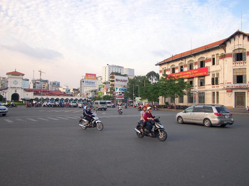 Railway Building at Ben Thanh