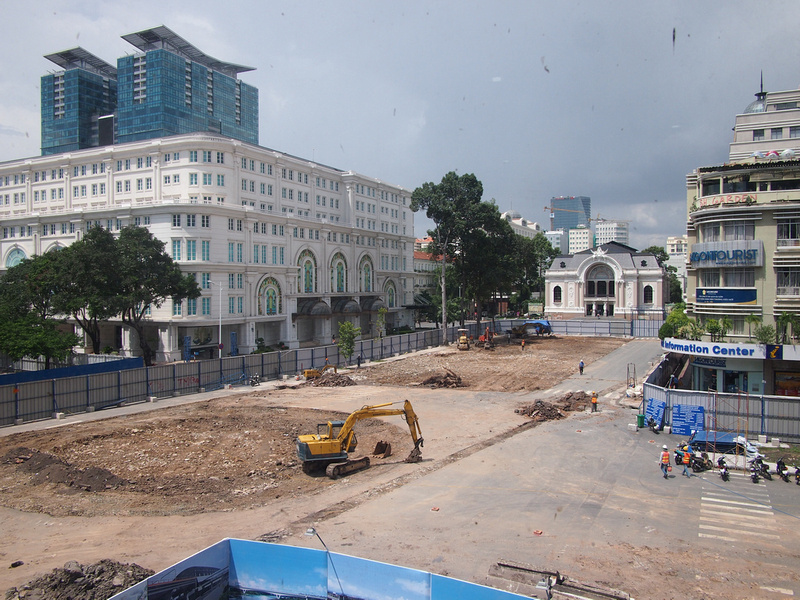 Opera Construction Site - Ho Chi Minh City
