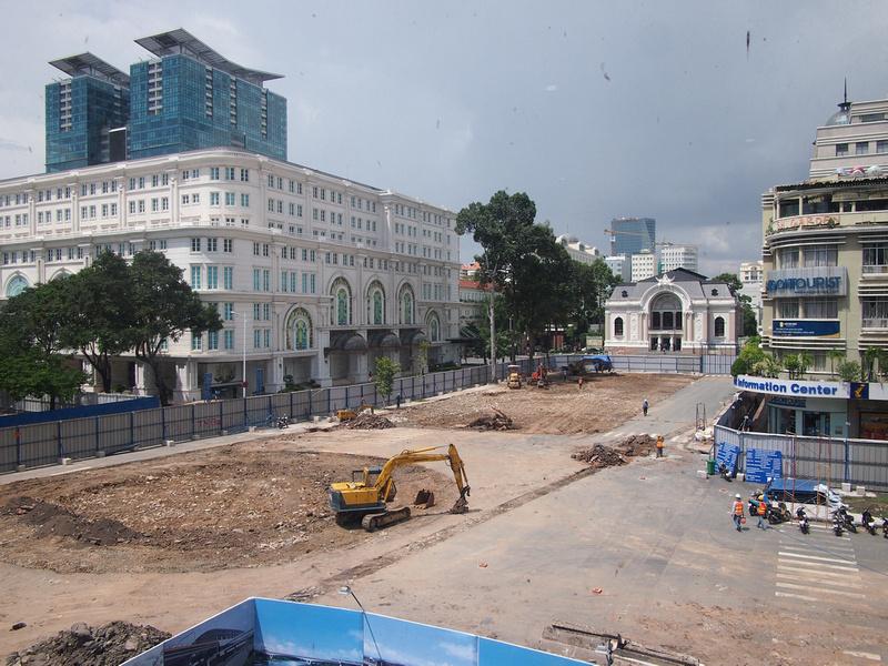 Opera Construction Site - Ho Chi Minh City