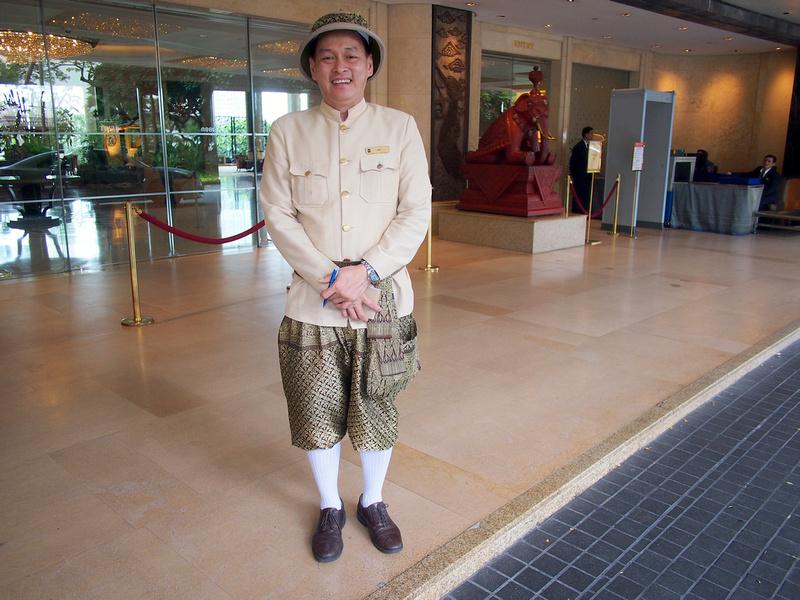 Shangri-La Hotel porter