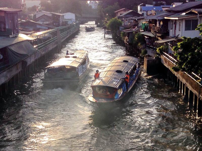 Khlong Boats, Bangkok - Thailand