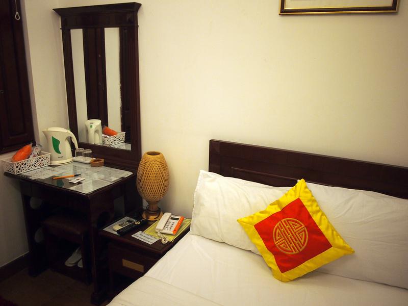 Bed at Lan Phuong Hotel