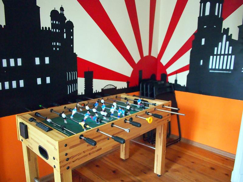 Foosball - Poco Loco Hostel