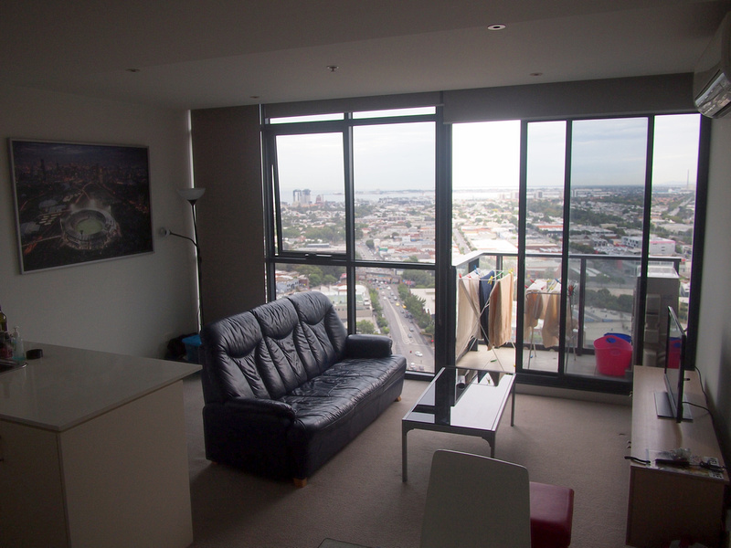 Southbank apartment lounge