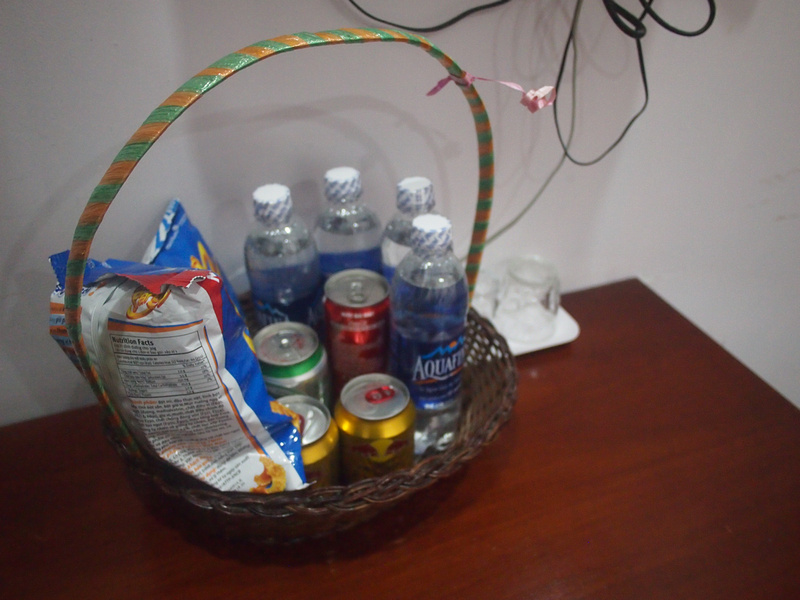 Drinks and snacks