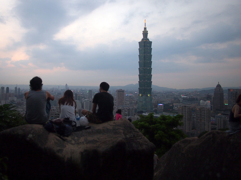 Viewing Taipei 101