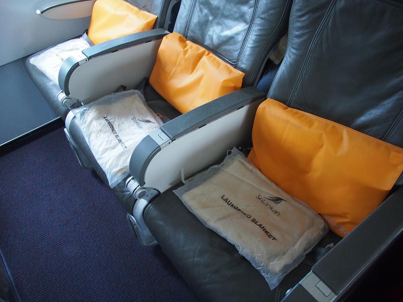 SriLankan Airlines economy seats