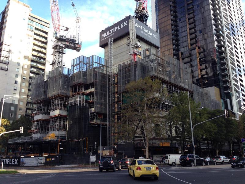 Australia 108 construction