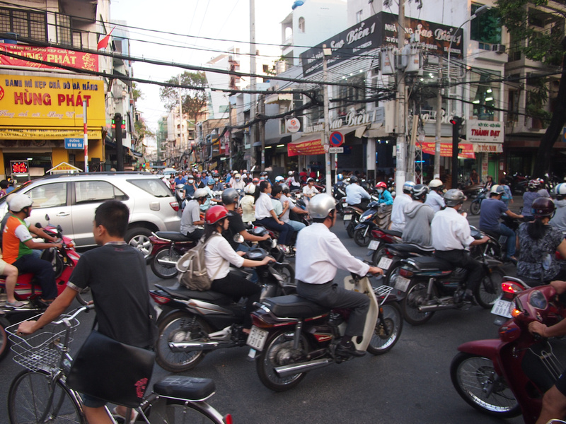 Motorbikes of Ho Chi Minh City