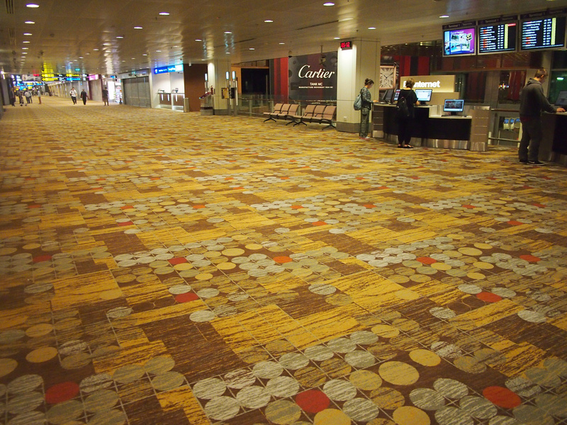 Carpet - Singapore Changi Airport