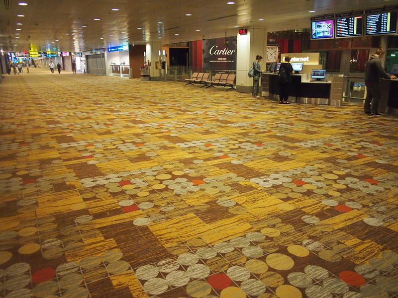 Carpet - Singapore Changi Airport
