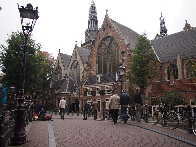 Oude Kerk (Old Church), Amsterdam - Netherlands