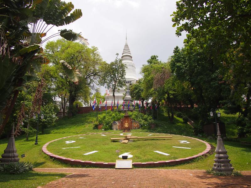 Wat Phnom, Phnom Penh - Cambodia